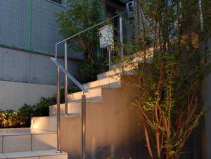 外部階段をデザインする/愛知県