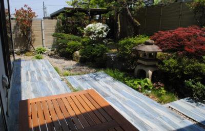 和風外構とお庭をモダンリフォーム/石川県/金沢市