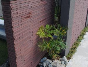 コンクリ外構をセミクローズに/石川県/白山市